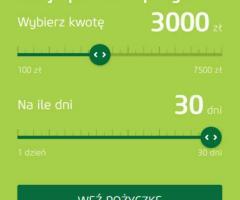 Pożyczka do 3000 zł na KONTO , przez internet lub telefon